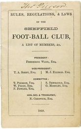 Soccer Oldest Law Book